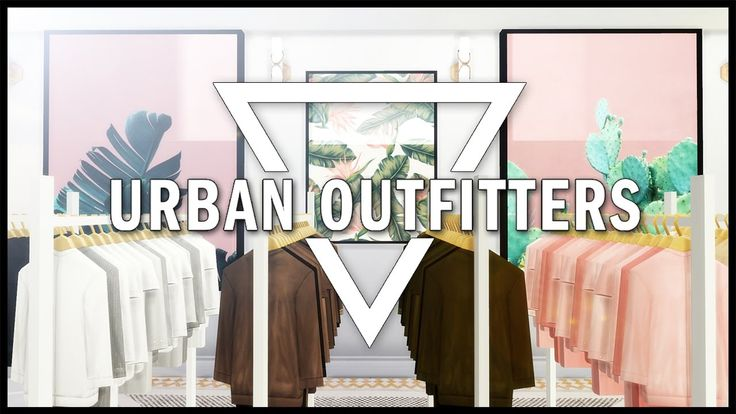 Sims 4 Urban Outfitters Clothing Store Cc List Urban Outfitters Clothes Clothing Rack Urban Outfitters