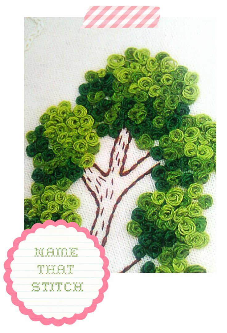 Mystery Stitch | Bindel Bird | This is a Peking/Chinese Knot. Makes a great filler for trees. jwt
