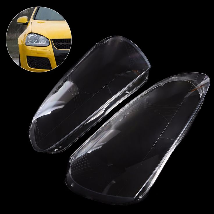 1 Pair New Car Headlight Headlamp Clear Lens Cover Shell For VW Golf 5 MK5 Jetta 2005 2006 2007 2008 2009