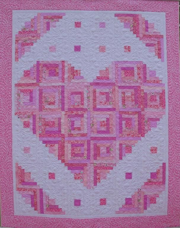 25+ best ideas about Heart quilts on Pinterest Heart quilt pattern, Patchwork quilts for sale ...
