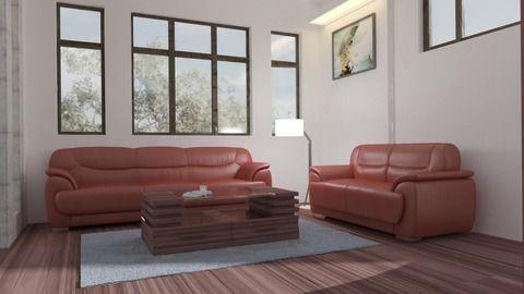 Cosy Contemporary Living Room