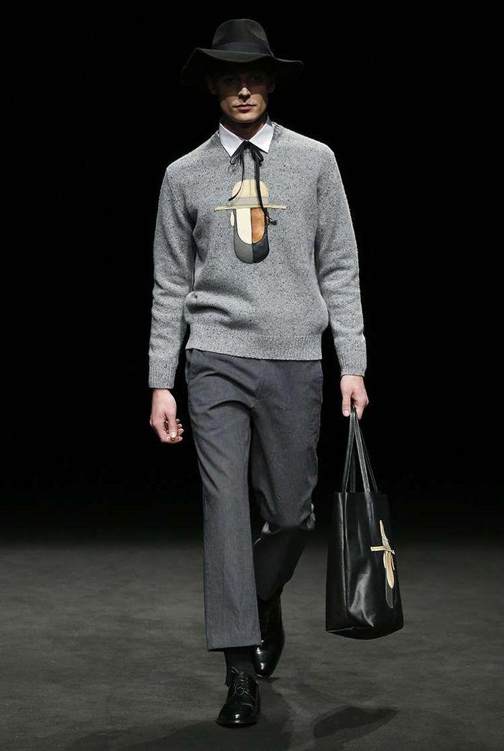 Male Fashion Trends: Antonio Miró Fall-Winter 2017 - 080 Barcelona Fashion