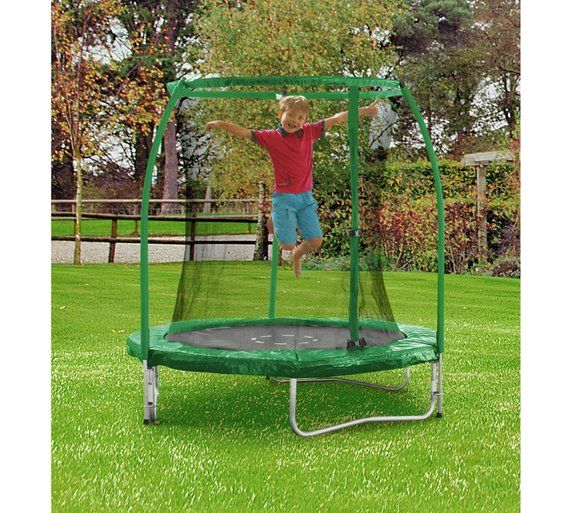 Buy Chad Valley 6ft Trampoline and Enclosure at Argos.co.uk, visit Argos.co.uk to shop online for Trampolines and enclosures, Trampolines and accessories, Outdoor toys, Toys