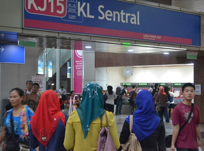 KL Sentral Station the central hub for transport and travel in Kuala Lumpur City. For our boutique Kuala Lumpur City Guide incl. Malaysian Food and Kuala Lumpur Boutique Hotels check our website: http://best-of-kl.com/