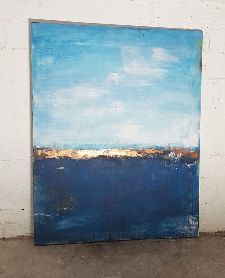 Deep Sea – Unikat – Serie Küstenlandschaften | Atelier Stefanie Rogge