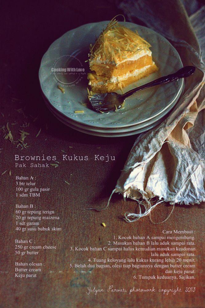Brownies Kukus Keju Pak Sahak