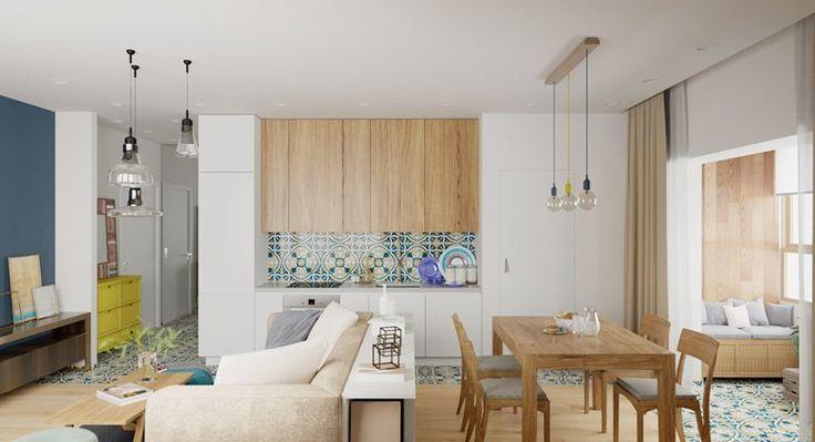 Apartment Barca, Moscow, 2016 - Kristina Saakyan