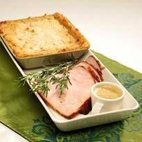 Kalkkunapaisti, omenainen kastike ja parempi perunalaatikko