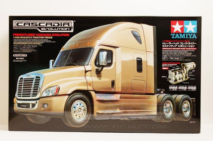 Tamiya #56340 - 1/14 RC Tractor Truck Freightliner Cascadia Evolution