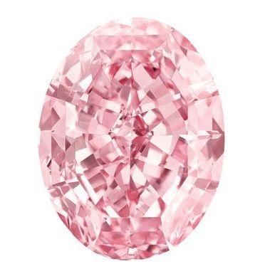 The Pink Star is a 59.60-carat color diamond. The oval-cut stone is the largest internally flawless fancy vivid pink diamond ever graded by Gemological Institute of America (GIA) and is estimated to fetch more than $60 million at auction