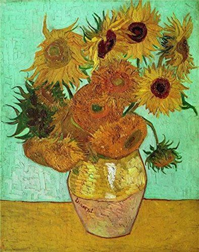 Oil Painting Sunflowers C1888 Printing On High Quality Polyster Canvas  24x30 Inch  61x77 Cm the Best Laundry Room Decor And Home Gallery Art And Gifts Is This High Resolution Art Decorative Prints On Canvas ** Check this awesome product by going to the link at the image.