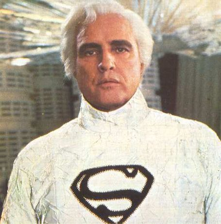 Marlon Brando in Superman: The Movie