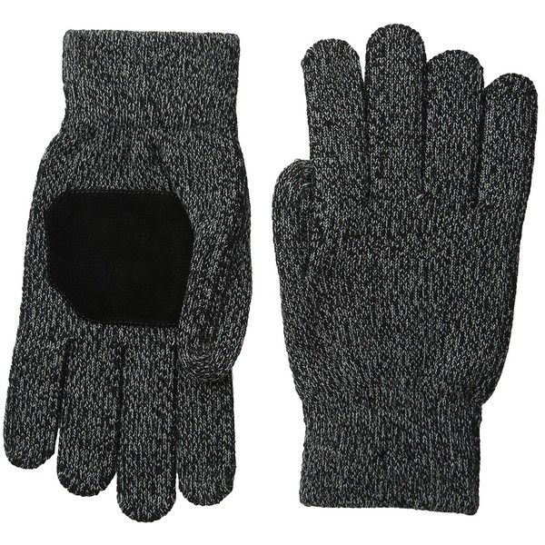 Smartwool Cozy Grip Glove (Black) Extreme Cold Weather Gloves (48 CAD) ❤ liked on Polyvore featuring accessories, gloves, touchscreen gloves, touch screen gloves, smartwool gloves and cold weather gloves