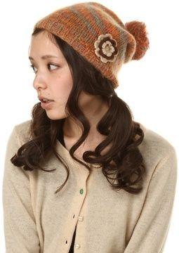 Flower knit cap / Fine Style DESERVE ニットキャップ グラデーション モヘア shopstyle.co.jp