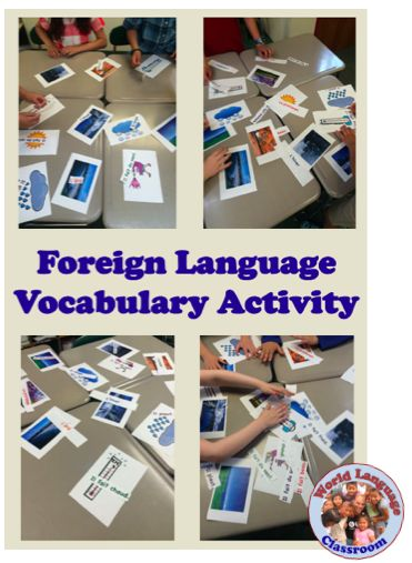 """This is a fun and interactive way for students to practice vocabulary meaning, recognition and spelling. I call this activity """"Everyone to the Table!"""" Begin with 4-5 tables with 3-4 students at ea..."""
