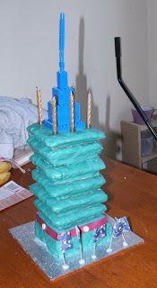 Gluten-Free Mum: Taipei 101 Cake