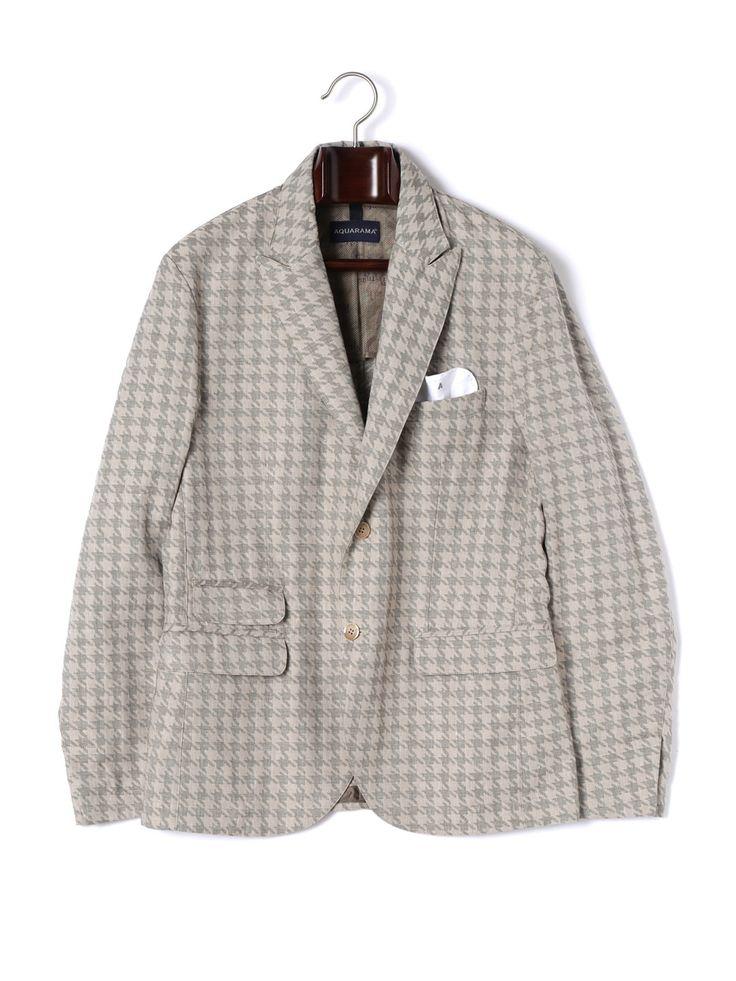 メンズ Zio Bernardo : Clothing AQUARAMA リネン混ピークド テーラードジャケット ベージュの商品詳細。「Zio Bernardo」は、世界中からファッショニスタが集うイタリアの街・フィレンツェの老舗セレクトショップ「Bernardo」をイメージ。東京・広尾に軒を構え、高感度な大人の男性たちに向けた最高峰のイタリアンファッションを提案しています。多彩なシーンであなたの魅力をいっそう輝かせる、珠玉のコレクションを心ゆくまでお楽しみください。