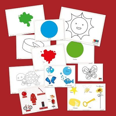 Los colores. recursos para el aula