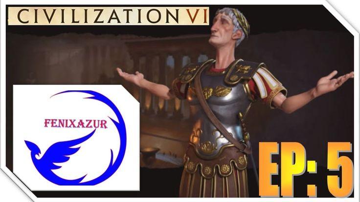 Civilization VI Gameplay  EP: 5 toma de capital
