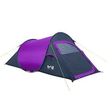 Tesco direct: 'The Original' Pop Up 2 Man Tent Purple