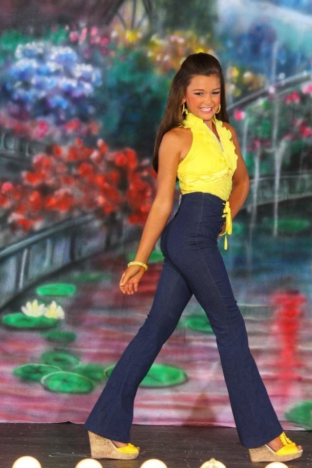 Teen Pageant Casual Wear | Winning Teen Pageant Casual Denim Wear OOC Outfit of Choice 12 14 0 ...