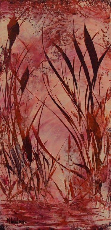 Roseaux Peinture Acrylique Sur Toile Peinture En 2018