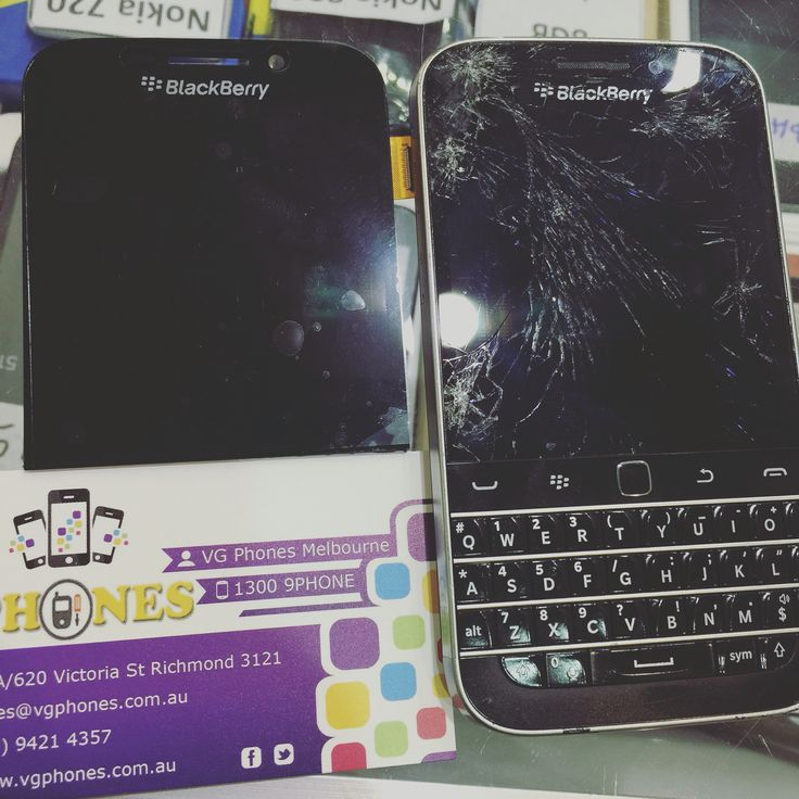 Blackberry classic Q20 screen replacement Melbourne