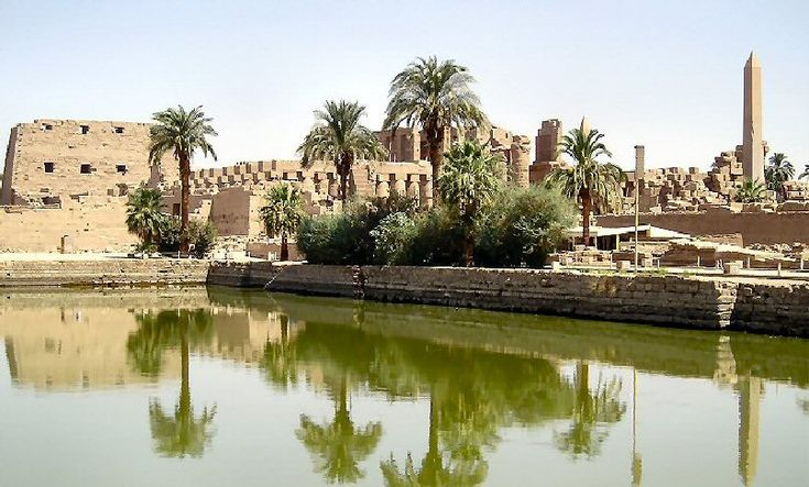 Thebes, Greece - The Temple of Karnak