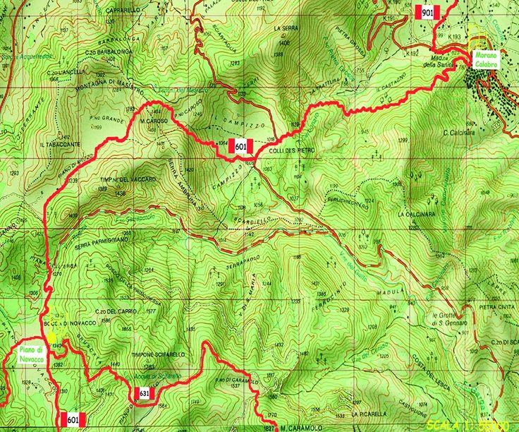L 39 autostrada dei camminatori il sentiero italia tappa del for Creatore del piano del sito