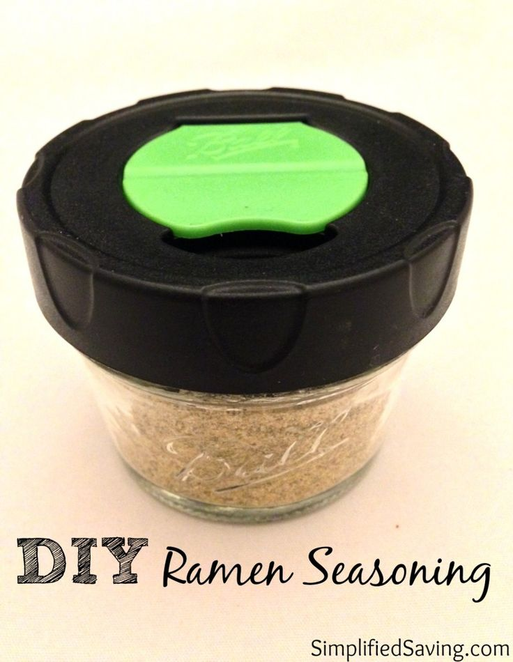 Make ramen soup without all the unpronounceable ingredients. This homemade ramen seasoning recipe calls for spices you probably already have on hand.