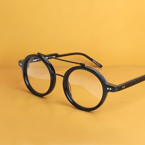 KAIBOSH | ROUND & ROUND REMIX in SOLID BLACK. The essential round frame - suits both men and women. An absolutely amazing look at the forefront of eyewear fashion. Available at www.kaibosh.com