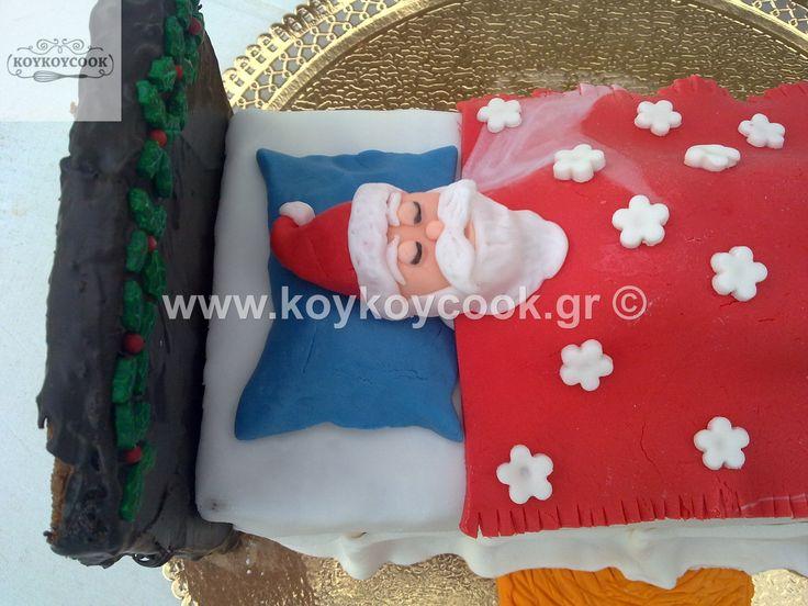 SANTA'S BED CAKE