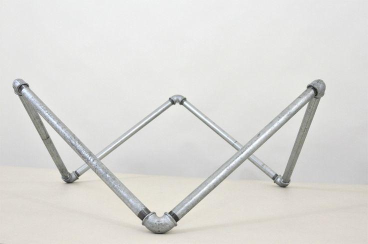 Bausatz Tischgestell loft-style (Couchtisch) von wefactory auf DaWanda.com