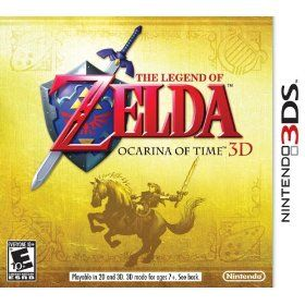 The Legend of Zelda: Ocarina of Time 3D for the Nintendo 3DS $27.99 (best price ever)