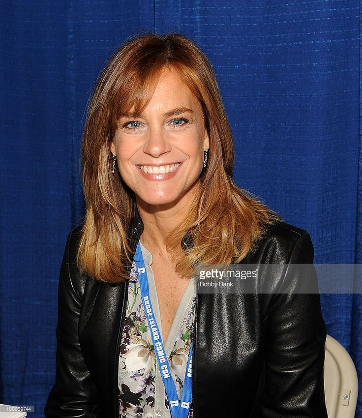 Catherine Mary Stewart attends the 2013 Rhode Island Comic Con at Rhode Island Convention Center on November 2, 2013 in Providence, Rhode Island.