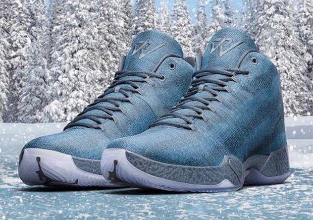 "Russell Westbrook's Air Jordan XX9 ""Frozen Moments"" PE For Christmas - SneakerNews.com"