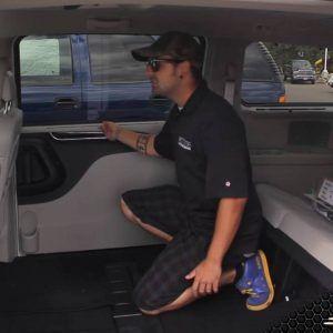 Dodge Van Window Blinds