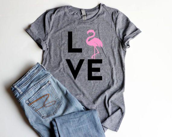 Flamingo Shirt Women Pink Flamingo Party Shirts Flamingo