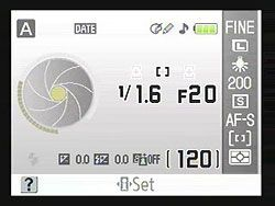 how to change shutter speed on nikon d60