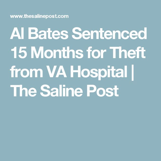 Al Bates Sentenced 15 Months for Theft from VA Hospital | The Saline Post