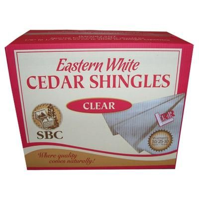 Sbc 5 In X 16 In Natural Kiln Dried Eastern White Cedar