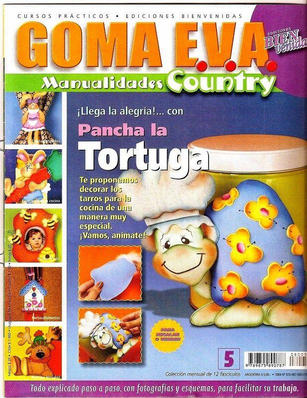 Descarga 12 revistas de goma eva gratis