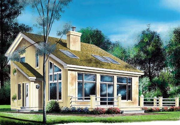 Saltbox Houseplan 76170 The Main Level Includes