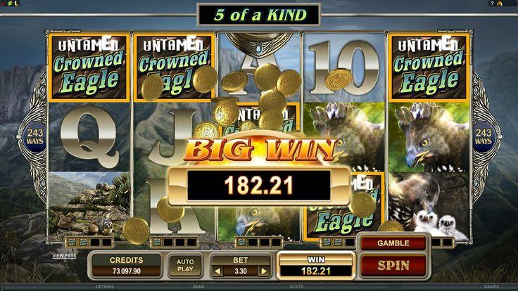Untamed Crowned Eagle Online Slot Game