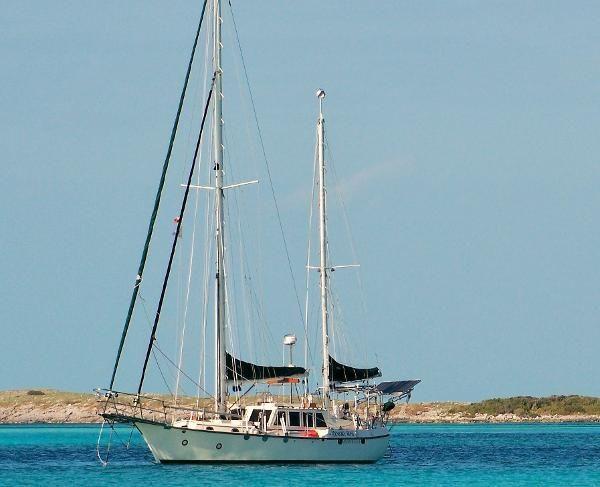 44' CSY 1978 Rare Pilothouse! Boat For Sale www.SailboatsinFlorida.com