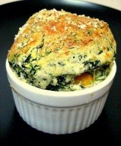 Cocina Decocasa: recetas, dietas y comidas » Cocina light: Soufflé de espinacas