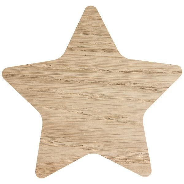 Kids Wooden Wall Hook Star - wooden wall hooks for kids make a cute nursery addition - showcase your kids favourite toy or a set of clothing. Hooks are screw-in & interchangeable