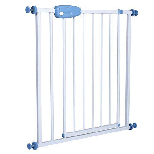 Infantastic – Barrière de Sécurité Enfant en Acier Extensible 74-87 cm (Quantité au choix): Adaptée aux escaliers, aux portes et aux…