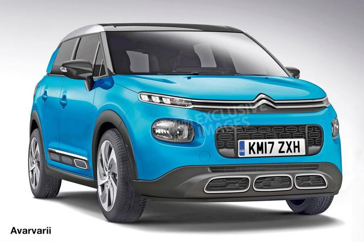 Citroen C3 SUV - front (watermarked)
