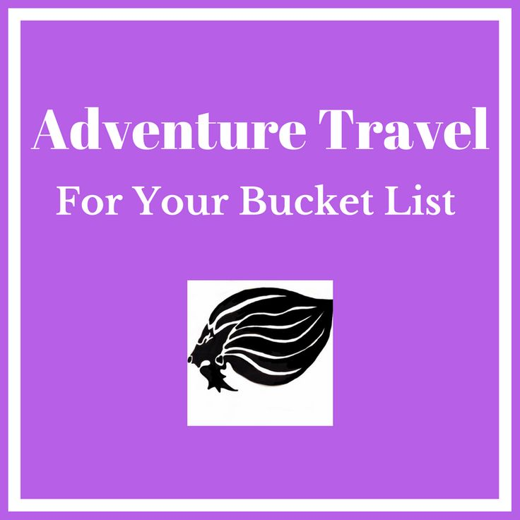 Bucket List Travel - cover